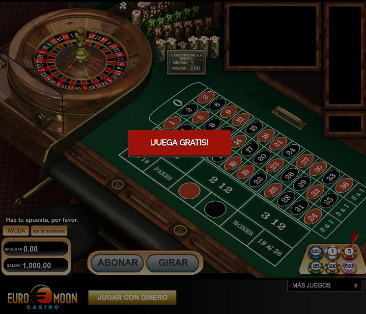 Jugar gratis ruleta americana