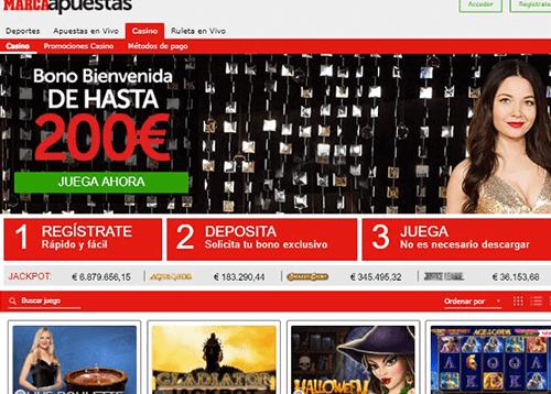marca apuestas homepage