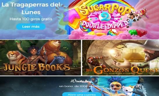 Lunes de giros gratis en tragaperras Casino Estrella